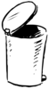 Garbage can avatar