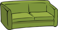 Green couch avatar