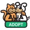 Adopt dog and cat avatar