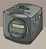 Alarm clock avatar png